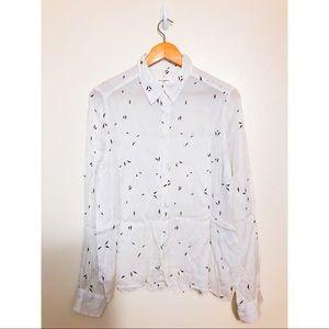 ASSEMBLY LABEL women's silk shirt